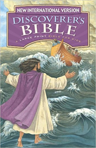 Childrens bible story books - NIV Large Print Bible
