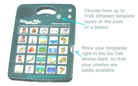 Go Talk 20 Augmentative Communication Device