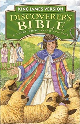 KJV Large Print Bible for Children