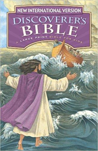 Children's Bible Story Book - NIV Large Print Bible