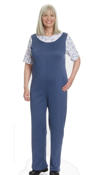 Jumpsuits for Women - with back zipper and ties - Small to plus size  bodysuit · Soft pajamas with back zipper plus 3285bce45