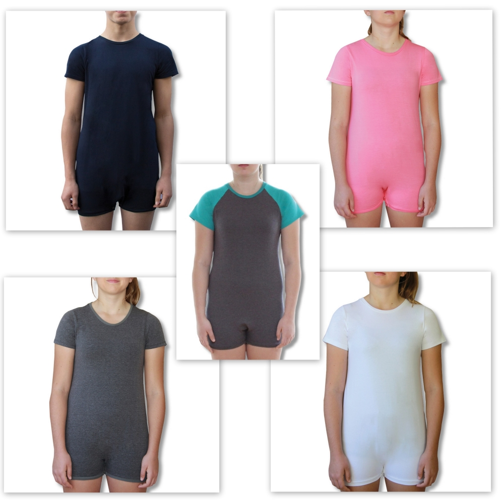 Short Sleeve Onesie Bodysuits for Children and Adult