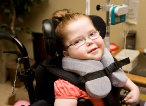 physically disabled student in wheelchair