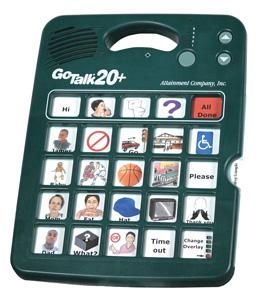 Augmentative Communication Device: Go Talk 20