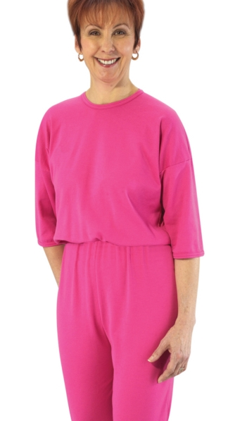 Jumpsuits for Women -  with back zipper and ties - Small to plus size bodysuit