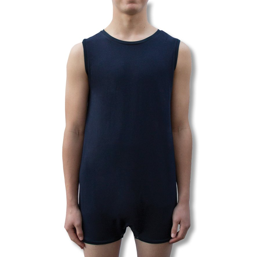 Navy Blue Onesie Bodysuit