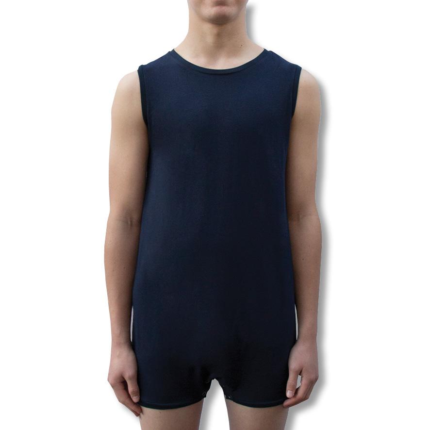 Navy Blue Onesie Bodysuit